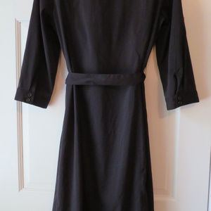 Style & Co Dresses - Black Button-front Style & Co Black Stretch Dress